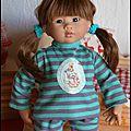 Ayumi en pyjama potter