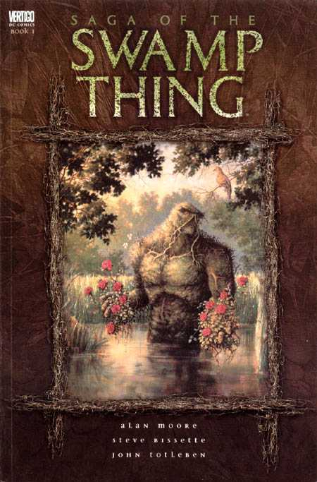 vertigo saga of the swamp thing vol 01 TPB