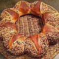 Le pain couronne du dimanche soir