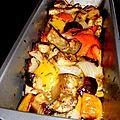 Poivrons et aubergines au four