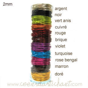fil alu multicolore www.coeurdartichaut.com