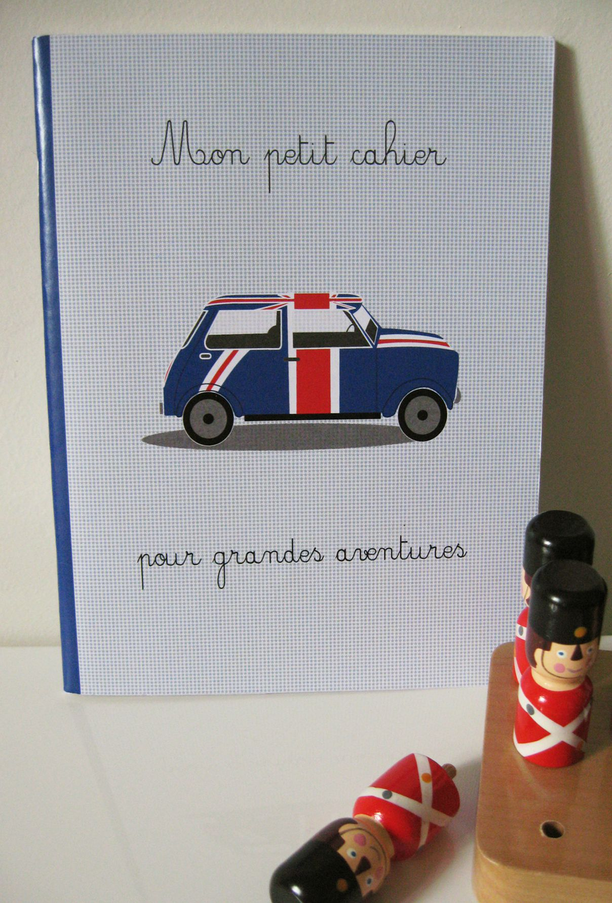 cahier voiture anglaise
