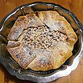 Torta della nonna (gâteau italien au citron et aux pignons)