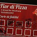 Fior di pizza : pizza à la part ou entière, sur place ou à emporter
