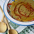 Bessara, purée de pois cassés à la marocaine