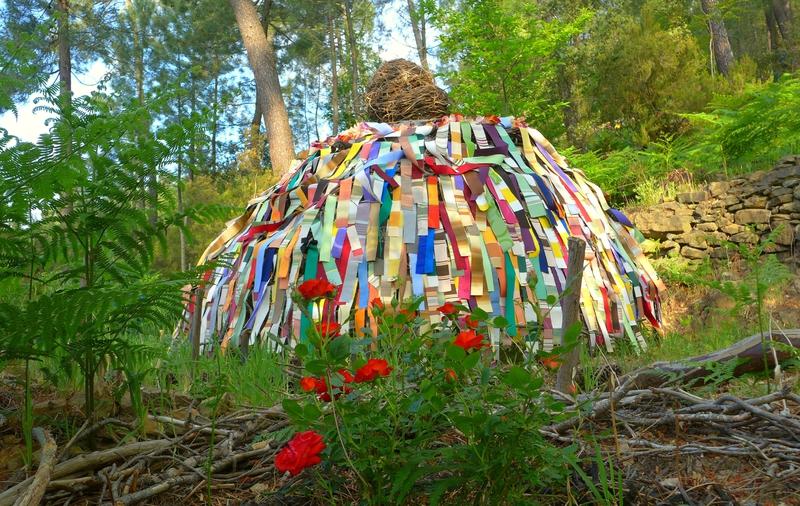 hutte ronde d'été aérée yurtao