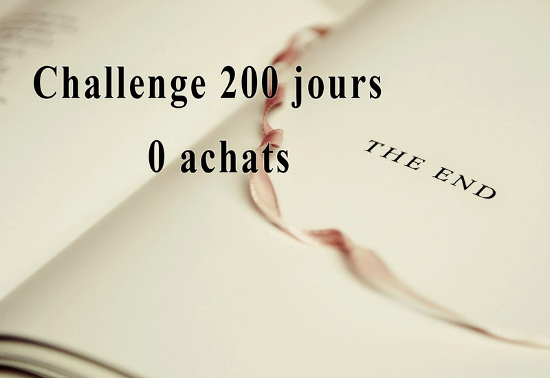 Challenge 200 jours 0 achats