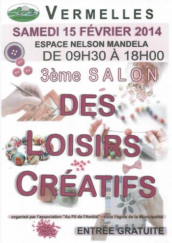 Salon VERMELLES Affiche 2014