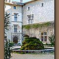 fontaine du chateau Thézan