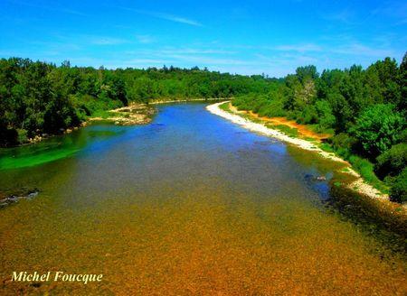 3) l'Ain au pont de Blyes