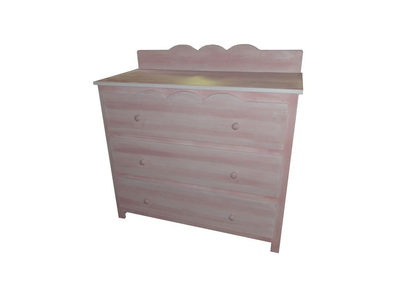 Commode 3 tiroirs Lali Lin Rose