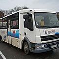 Vdl-jonckheere schoolbus sur châssis-cabine daf
