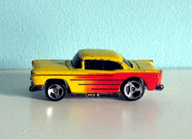 Chevrolet bel-air de 1957 (Hotwheels)