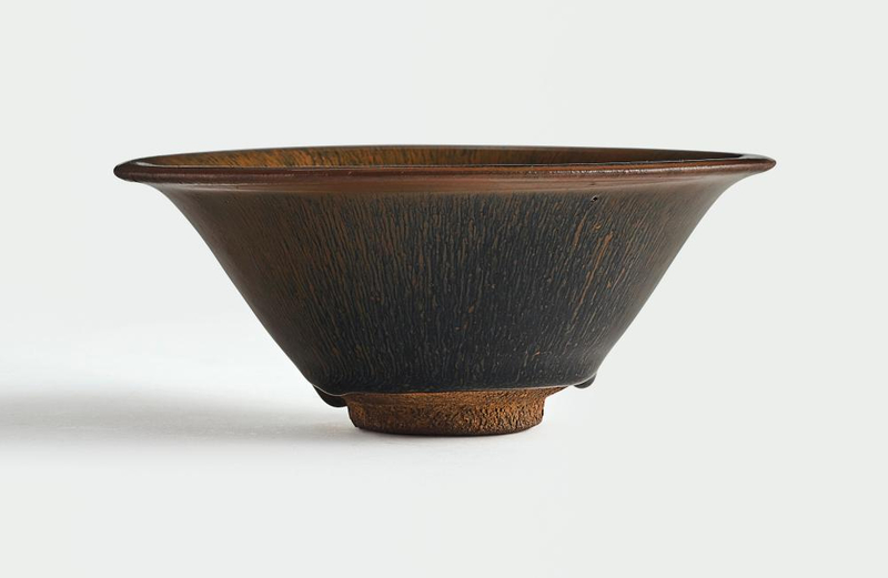 A rare large 'Jian' 'Hare's fur' bowl, Southern Song Dynasty (1127-1279)