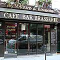 De voltaire à rousseau paris 1° café bar brasserie