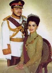 couple roi reine jordanie