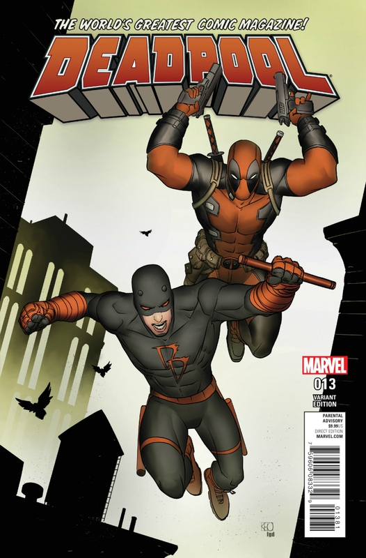 deadpool V5 13 daredevil variant