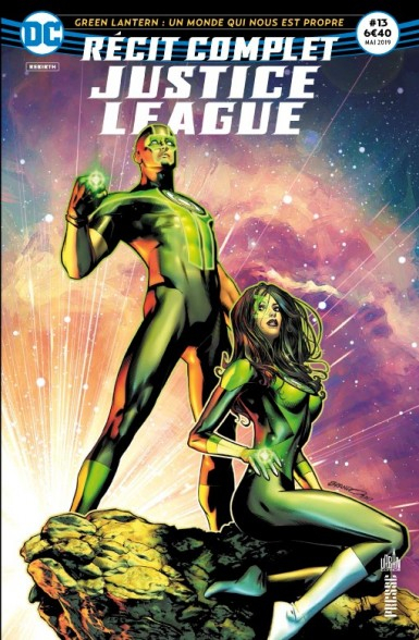 récit complet justice league 13 green lanterns