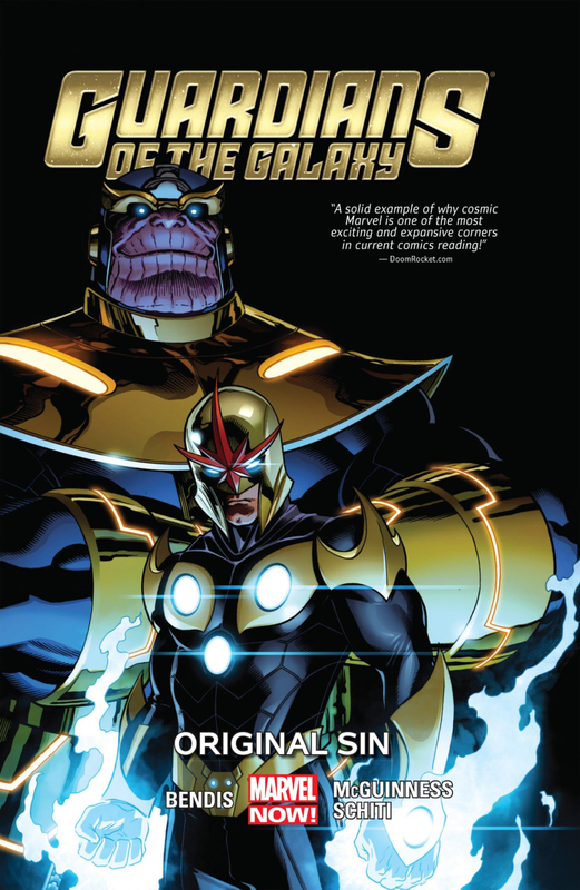 guardians of the galaxy 2013 vol 04 original sin TPB