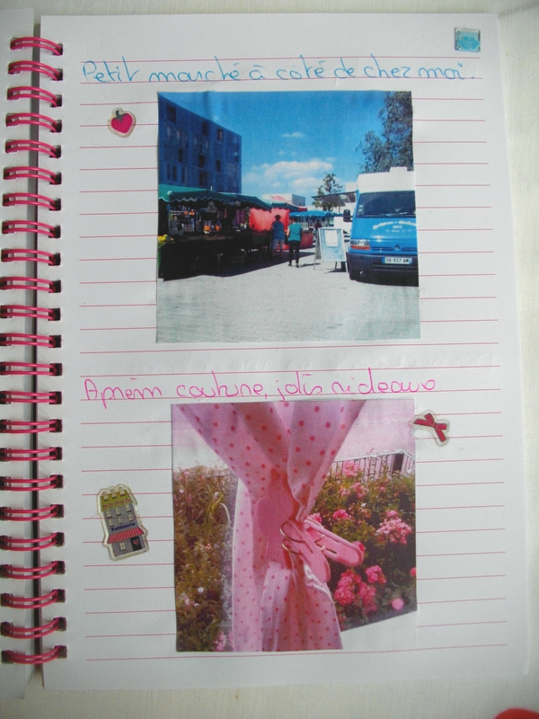 marché-rideaux-pois-rice-pince oiseau-rose-pink