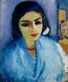 Femme_en_bleue_au_collier_rouge_1907_11_de_Kees_van_Dongen__huiles_sur_toile_55_x_46_cm