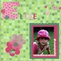Elise au chapeau rose