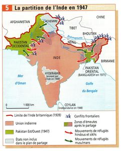partition de l'Inde