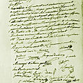 Le 28 septembre 1789 à mamers nomination d'officiers