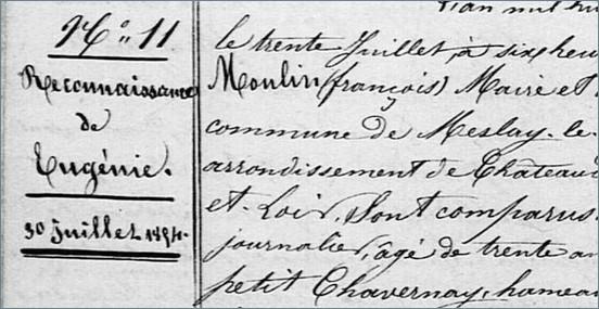 Eugenie Eudocxie Duval 1860 - Couleur Tourterelle 2 7