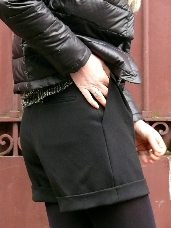 Short noir Burda