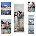 Edition de reproductions de mes aquarelles d'annecy