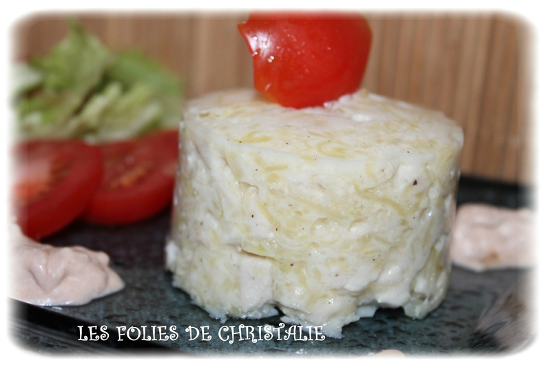 Terrine courgette poulet 6