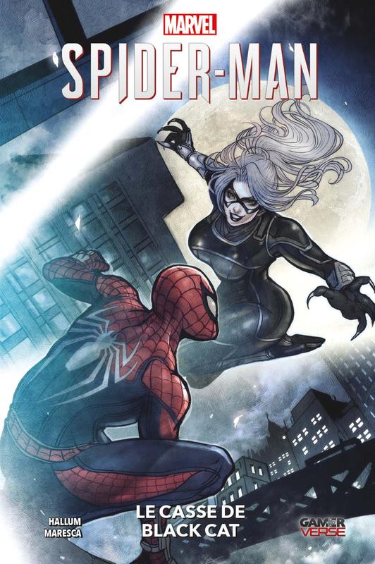 100% marvel spiderman le casse de black cat