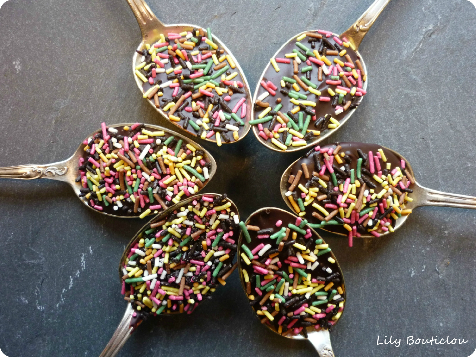 sucette chocolat cuillere lilybouticlou