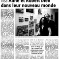 Robert & aline crumb - (article midi libre)