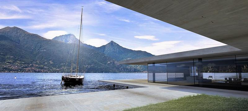 Villa contemporaine aix en provence cote d'azur