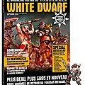 White dwarf - le renouveau ?