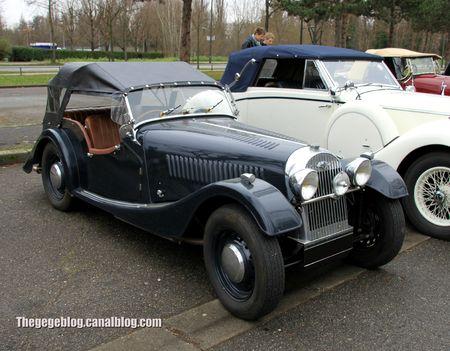 Morgan plus 4 convertible (Retrorencard janvier 2013) 01