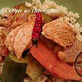 Couscous leger ( au thermomix )