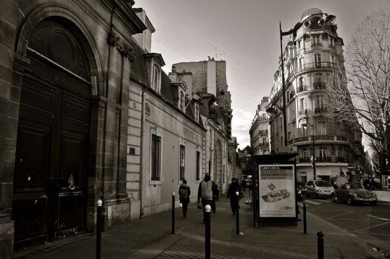 Instantané rue Saint-Dominique.