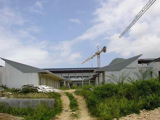 CHANTIER NOUVEL HOPITAL CAPESTERRE BELLE-EAU - GUADELOUPE