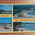 Casteljaloux - lac de Clarens datée 1993