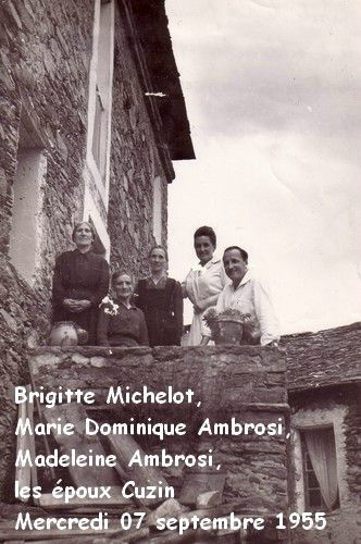 01 Bri Mich, Marie Domin Ambro, Made Ami, Mme et Mr Cuzin -07-09-55