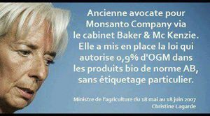 LAGARDE MONSANTO