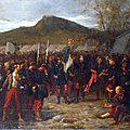 Massé, Emmanuel les funérailles d'un drapeau (1874)