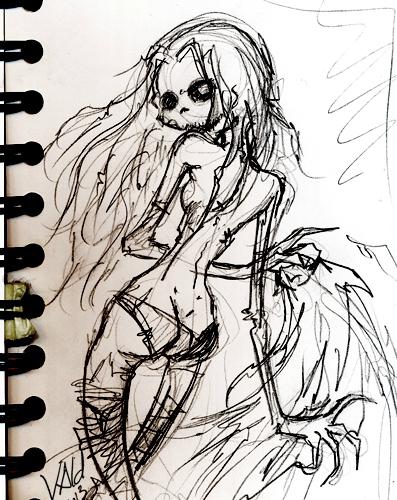 Vald Zombie Janis Crayon