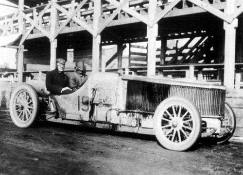 1905 vanderbilt cup - walter white (white steamer) dnf 4 laps