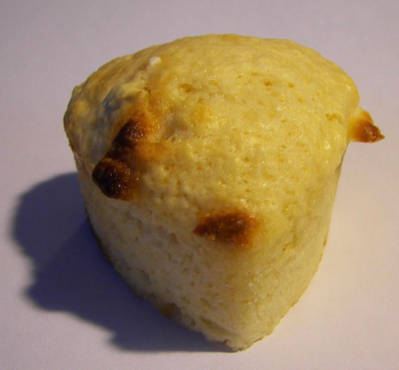 Muffins citron et chocolat blanc