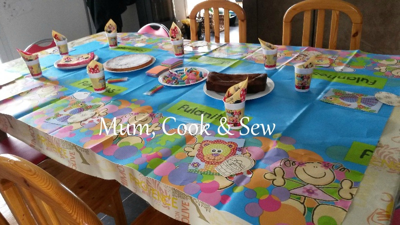 table anniversaire