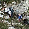 Les roches rousses 1821 m du pré orcel – chartreuse